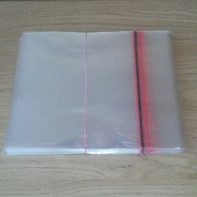 "Cellophane Outersleeves for vinylsingles (7"") - pack 100 pieces"
