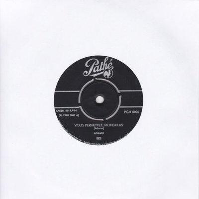 Adamo - Vous permettez monsieur + Dans le vert se ses yeux (Vinylsingle)