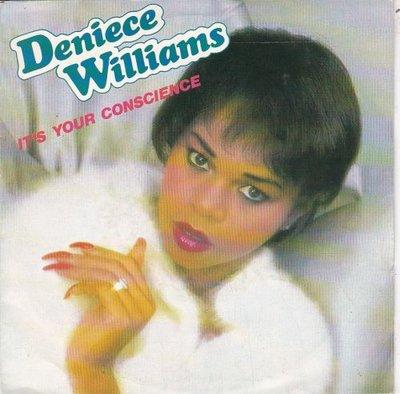 Deniece Williams - It's your conscience + Sweet surrender (Vinylsingle)