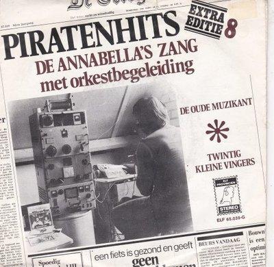 Annabella's - De Oude Muzikant + Twintig Kleine Vingers (Vinylsingle)