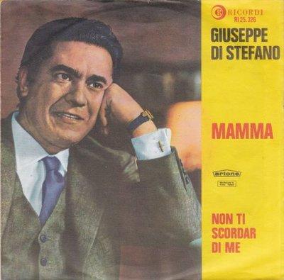 Giuseppe di Stefano - Mamma + Non Ti Scordar Di Me (Vinylsingle)