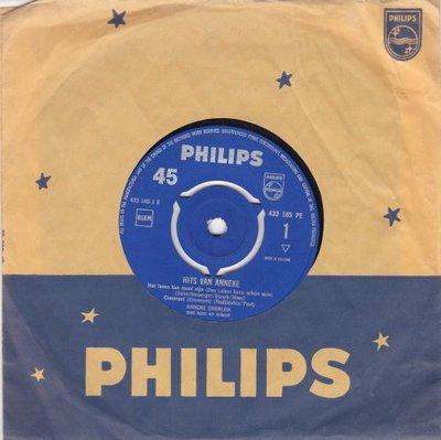 Anneke Gronloh - Hits van Anneke (EP) (Vinylsingle)