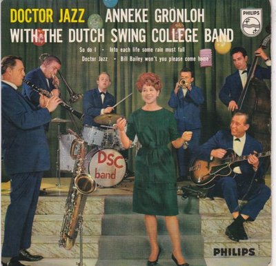 Anneke Gronloh - Doctor Jazz (EP) (Vinylsingle)