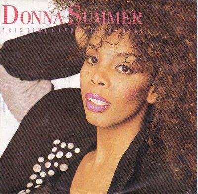 Donna Summer - This time I know it's for real + Whatever. (Vinylsingle)