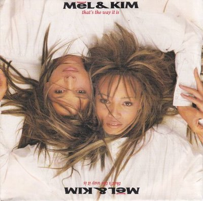 Mel & Kim - That's the way it is + You changed my life (Vinylsingle)