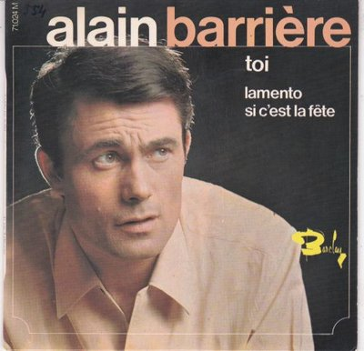 Alain Barriere - Toi (EP) (Vinylsingle)