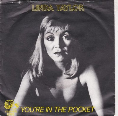 Linda Taylor - You're in the pocket + Let me in to your heart (Vinylsingle)