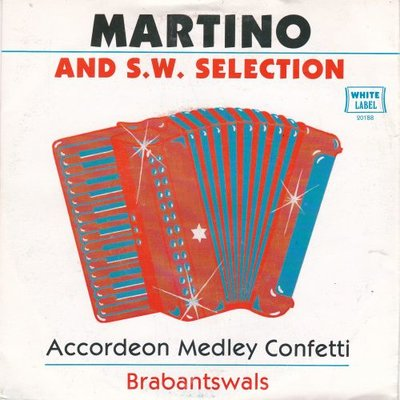 Martino and S.W. Selection - Accordeon medley confetti + Brabantswals (Vinylsingle)