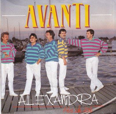 Avanti - Alexandra + Als ik val (Vinylsingle)