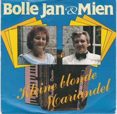 Bolle Jan & Mien - Kleine blonde Mariandel + Kristalwals (Vinylsingle)
