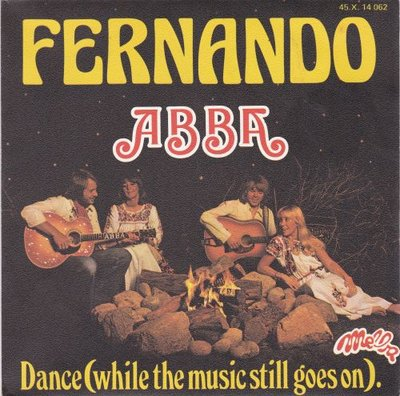 Abba - Fernando + Dance (while the music still goes on) (Vinylsingle)