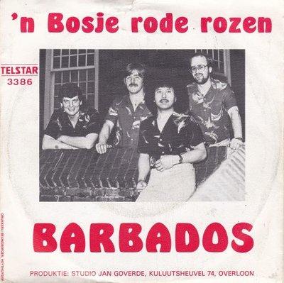 Barbados - n Bosje Rode Rozen + Piratenzenders (Vinylsingle)