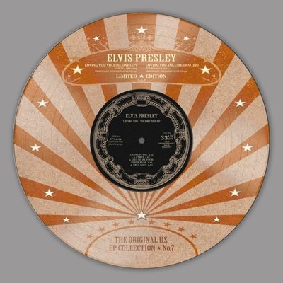ELVIS PRESLEY - THE ORIGINAL U.S. EP COLLECTION NO. 7 -PICTURE DISC- (Vinyl LP)