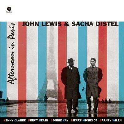 JOHN LEWIS & SACHA DISTE - AFTERNOON IN PARIS   -HQ- (Vinyl LP)