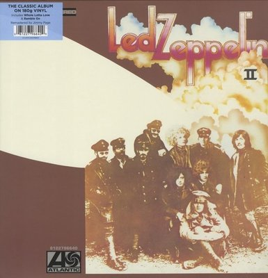 LED ZEPPELIN - II -HQ/REMASTERD (Vinyl LP)