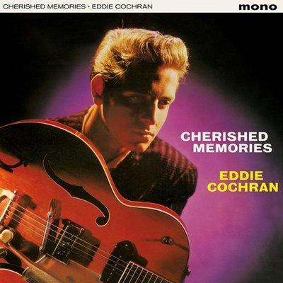 EDDIE COCHRAN - CHERISHED MEMORIES -HQ- (Vinyl LP)