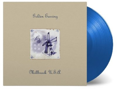 GOLDEN EARRING - MILLBROOK U.S.A. -BLUE VINYL- (Vinyl LP)