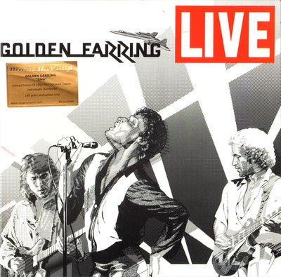 GOLDEN EARRING - LIVE -COLOURED VINYL- (Vinyl LP)