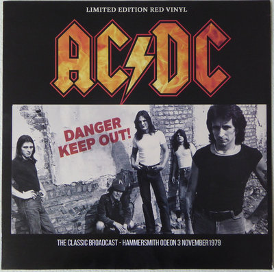 AC/DC - DANDER KEEP OUT! -COLOURED VINYL- (Vinyl LP)