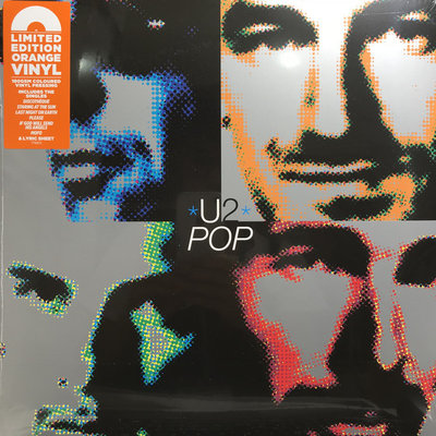 U2 - POP -COLOURED VINYL- (Vinyl LP)
