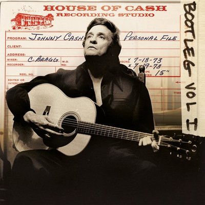 JOHNNY CASH - BOOTLEG VOL 1 - PERSONAL FILE (Vinyl LP)