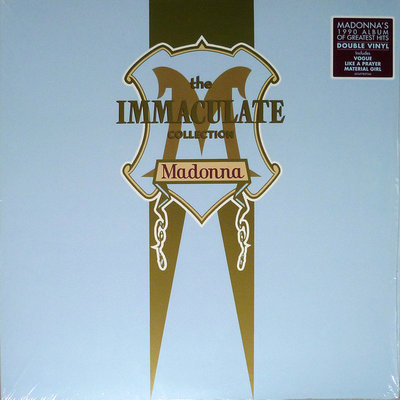 MADONNA - THE IMMACULATE COLLECTION (Vinyl LP)