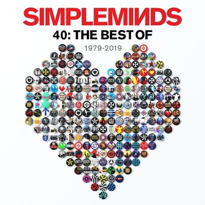 SIMPLE MINDS - 40: THE BEST OF (Vinyl LP)