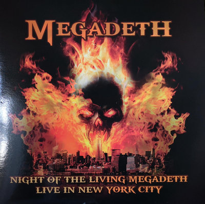 MEGADETH - NIGHT OF THE LIVING MEGADETH (Vinyl LP)