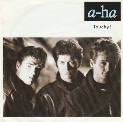 Aha - Touchy! + Hurry home (Vinylsingle)