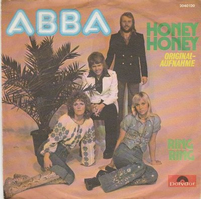 Abba - Honey honey + Ring Ring (Vinylsingle)