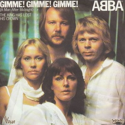 Abba - Gimme gimme gimme + The king has lost his crown (Vinylsingle)