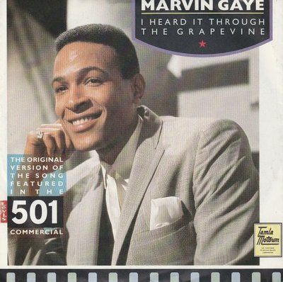 Marvin Gaye - I heard it through the grapevine + Can I get a witness (Vinylsingle)