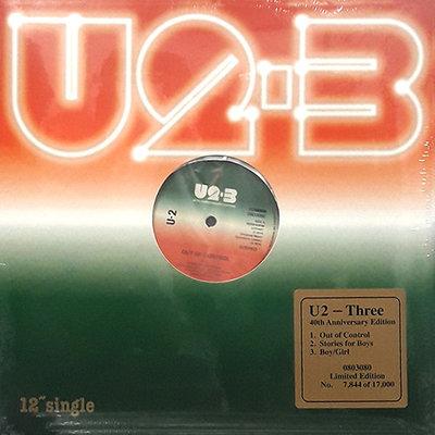 U2 - THREE -40TH ANNIVERSARY EDITION- (Vinyl LP)