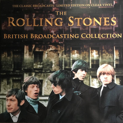 ROLLING STONES - BRITISH BROADCASTING COLLECTION -COLOURED- (Vinyl LP)