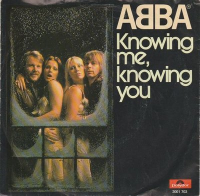 Abba - Knowing me. knowing you + Happy Hawaii (Vinylsingle)