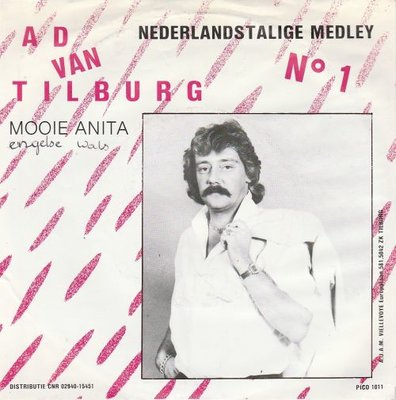 Ad van Tilburg - Medley no.1 + Mooie Anita (Vinylsingle)