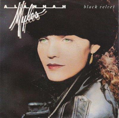 Alannah Myles - Black velvet + If you want to (Vinylsingle)