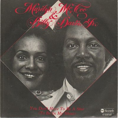 Marilyn McCoo & Billy Davis Jr - You Don't Have To Be A Star + I Hope We Get To Love In Time (Vinylsingle)