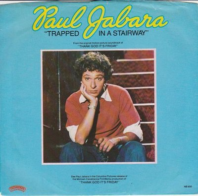 Paul Jabara - Trapped In A Stairway + It All Comes Back To You (Vinylsingle)