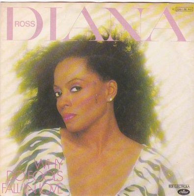 Diana Ross - Why do fools fall in love + Think I'm in love (Vinylsingle)