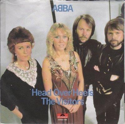 Abba - Head over heels + The visitors (Vinylsingle)