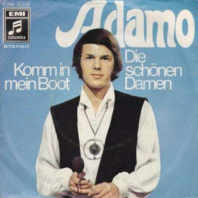 Adamo - Komm in mein boot + Die schonen damen (Vinylsingle)