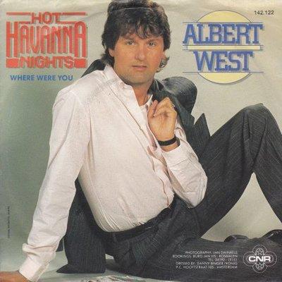 Albert West   - Hot havanna nights + Where were you (Vinylsingle)