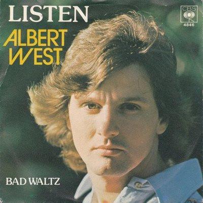 Albert West   - Listen + Bad waltz (Vinylsingle)
