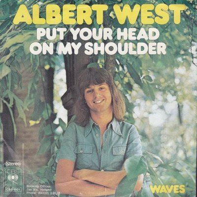 Albert West   - Put your head on my shoulder + Waves (Vinylsingle)