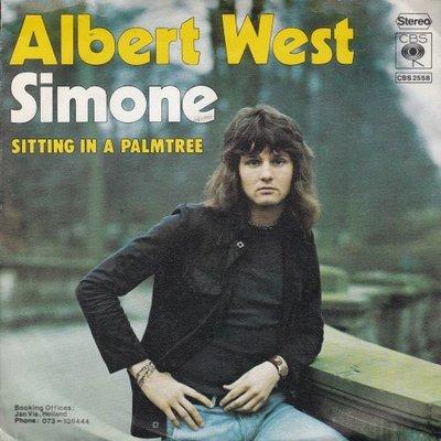 Albert West   - Simone + Sitting in a palmtree (Vinylsingle)