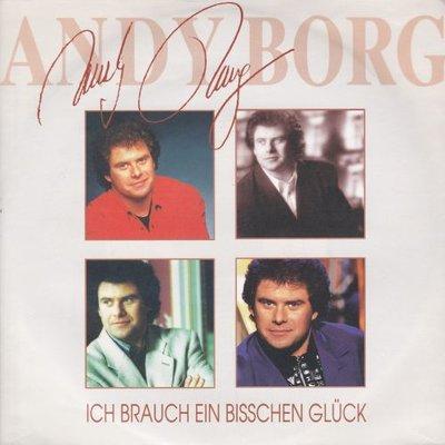 Andy Borg - Ich Brauch Ein Bischen Gluck + Verzeih (Vinylsingle)