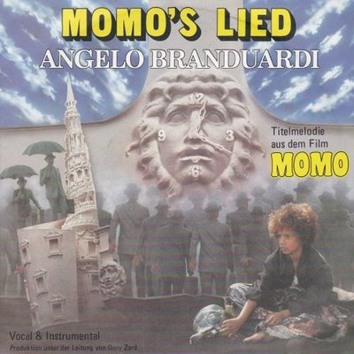 Angelo Branduardi - Momo's lied +(instr.) (Vinylsingle)