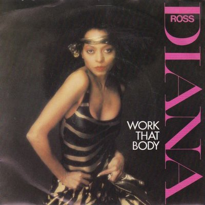 Diana Ross - Work that body + Two can make it (Vinylsingle)