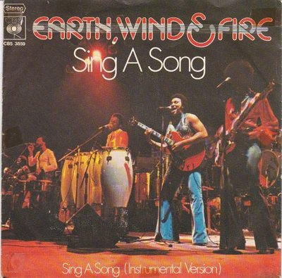 Earth Wind & Fire - Sing a song + (instr. Version) (Vinylsingle)